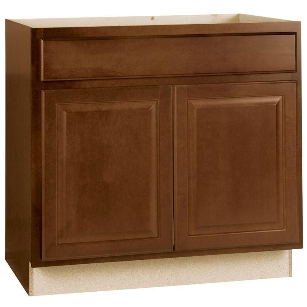 Best Hampton Bay Hampton Assembled 36X34 5X24 In Sink Base 400 x 300