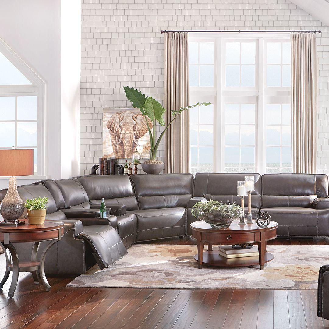 Miraculous Dylan 3 Piece Power Leather Sectional Casual Style In 2019 Inzonedesignstudio Interior Chair Design Inzonedesignstudiocom