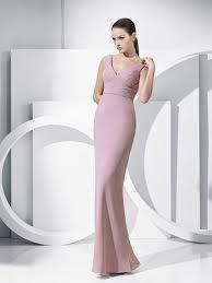 vestidos de noche color rosa - Buscar con Google