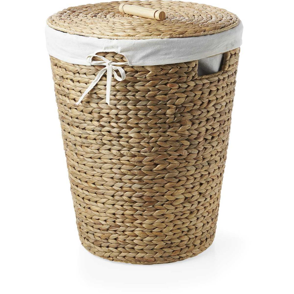 House Home Arrow Weave Laundry Hamper With Lid In 2020 Laundry