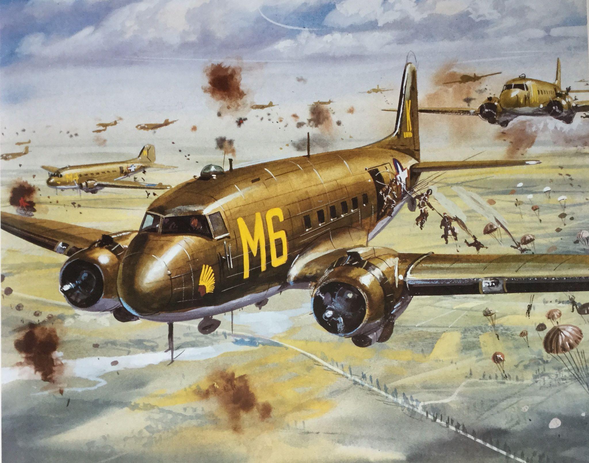 Roy Cross - Douglas DC3 Dakota