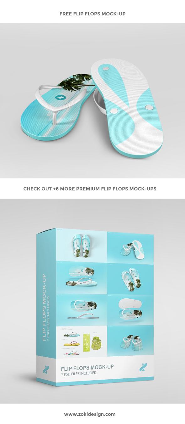 ef7ea47dabcd95 Free Flip Flops Mock-up
