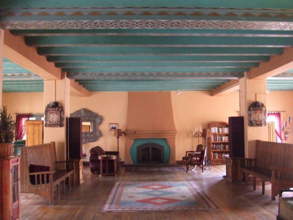 An Interior Shot Of La Posada Hotel In Winslow Arizona The Was Designed
