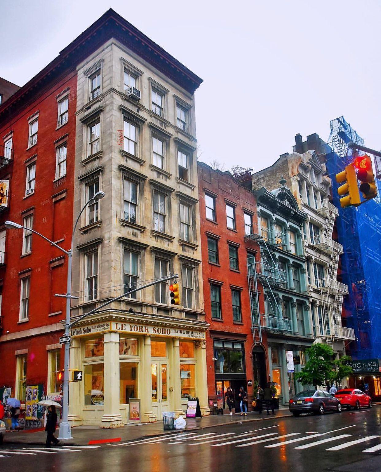 Ny Manhattan: SoHo, Manhattan, New York City, New York