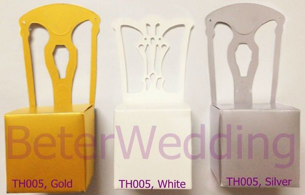 Photo of US $ 72.0 | Kostenloser Versand 168pcs Gold Miniature Chair Place Ca …