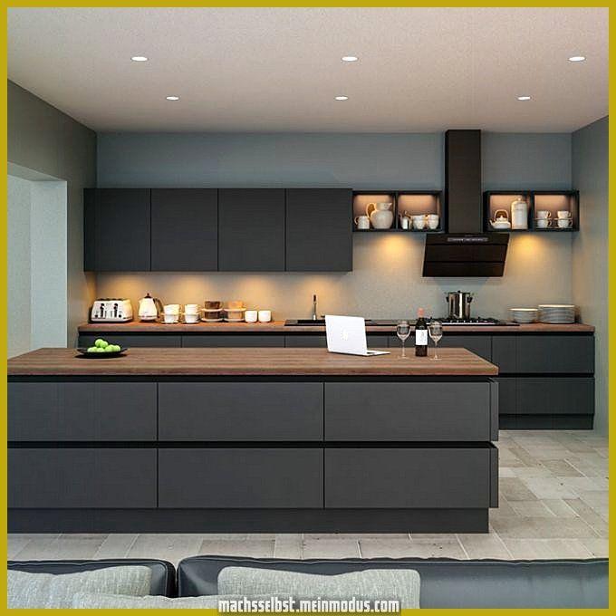 Photo of Risultato fotografico mozzafiato per cucina moderna in grigio topo
