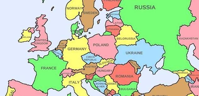 karta evrope 2050 Lídři světové ekonomiky v roce 2050 podle předpovědi: Brazílie  karta evrope 2050