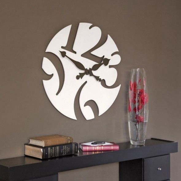 interesting wood clock | The decorative wall clocks are available in many varieties, which are ...