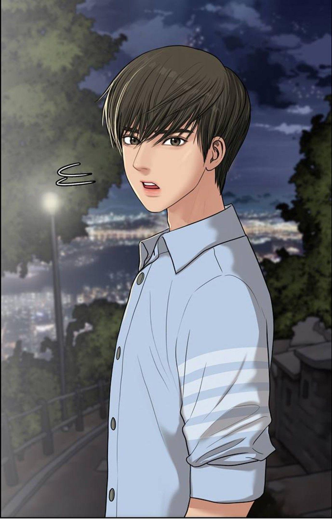 Ilustrasi karakter oleh Kalki di true beauty Orang