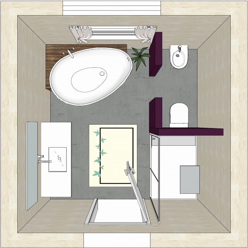 77 Plan Salle De Bain 5m2 Rectangulaire 2018 Salle De Bain Design Idee Salle De Bain Amenagement Salle De Bain