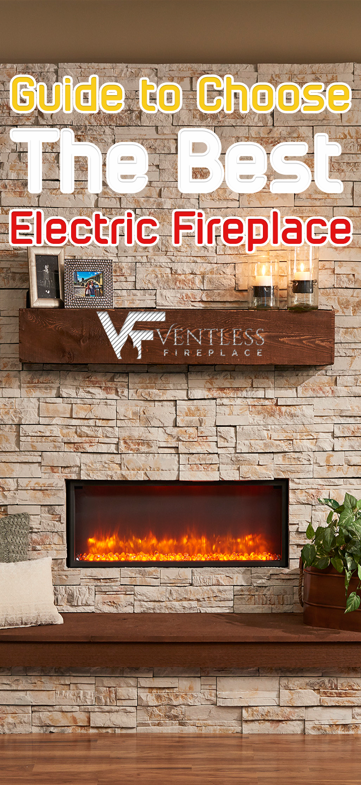 Best Electric Fireplace In 2018 With Images Best Electric