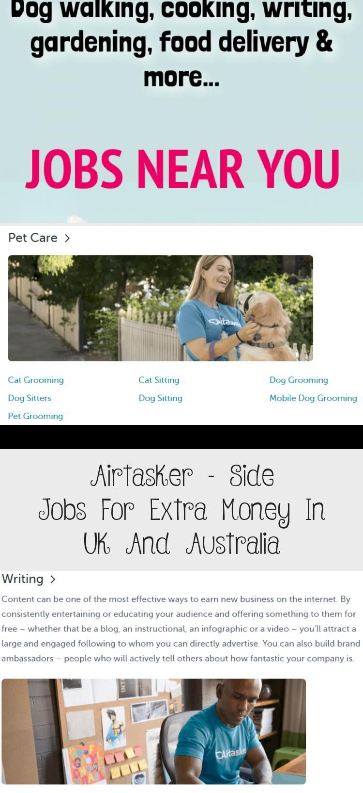 Airtasker  Side Jobs For Extra Money In Uk And Australia  Make Money Ideasairtasker