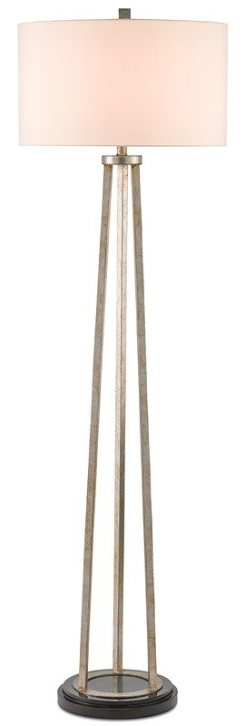 Bonnievale Floor Lamp Currey And Company In 2020 Silver Floor Lamp Lamp Floor Lamp Design