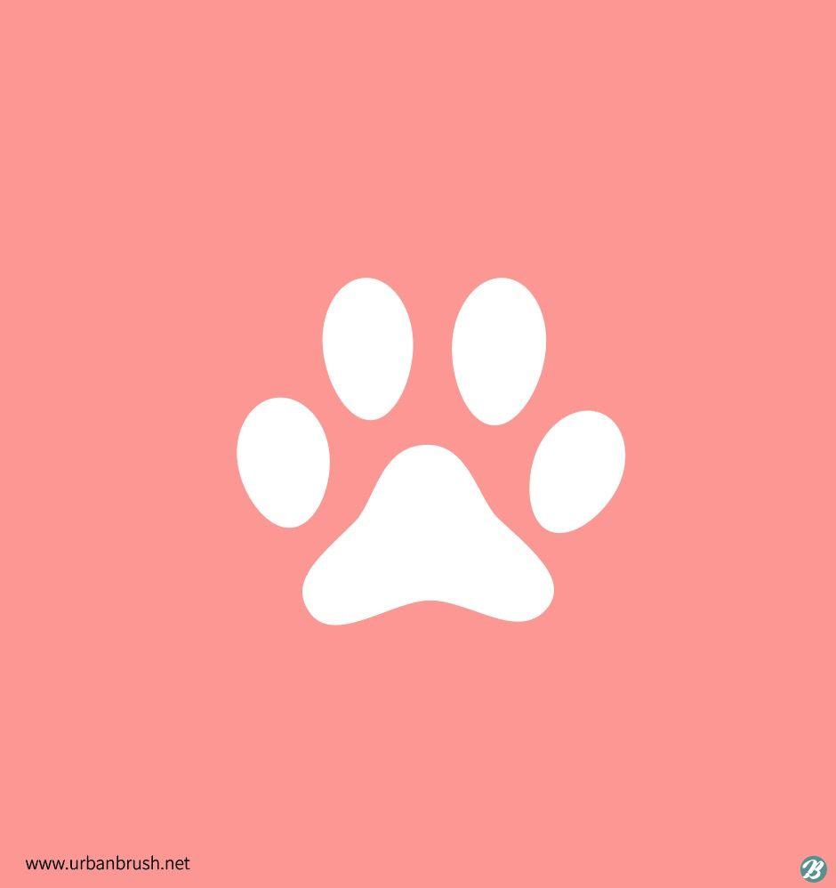 고양이 발자국 일러스트 Ai 다운로드 Download Cat Foot Print Vector Urbanbrush 발자국 고양이 심볼