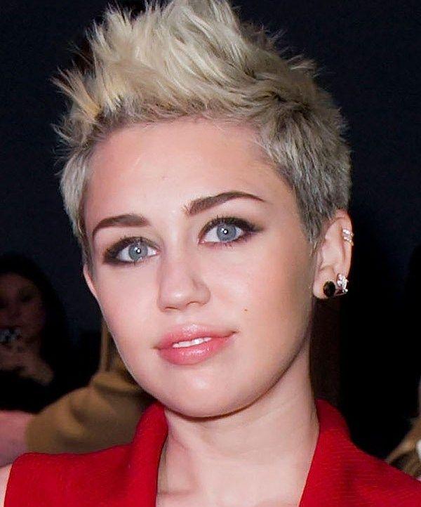 Incredible Miley Cyrus New Hair Borbotta Com Short Hairstyles For Black Women Fulllsitofus