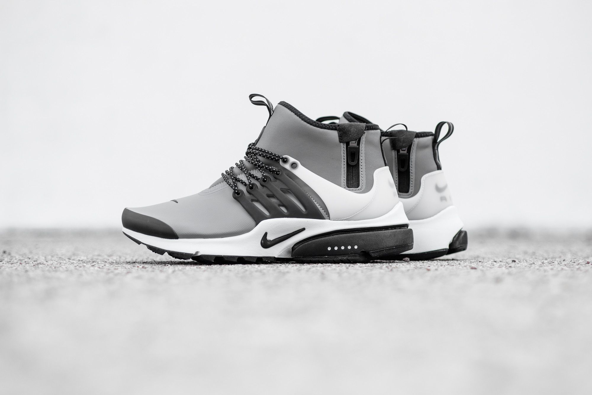 The Nike Air Presto Mid Utility Will Release In Cool Grey