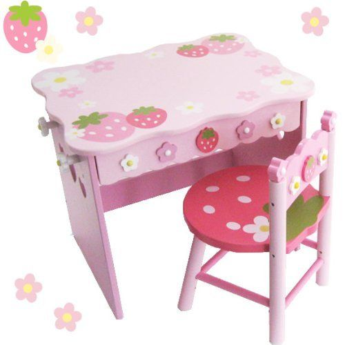 野苺 学校デスクセット キューティ柄 08551599:Amazon.co.jp:おもちゃ