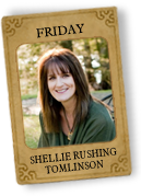 Shellie Rushing Tomlinson is our Belle Friday