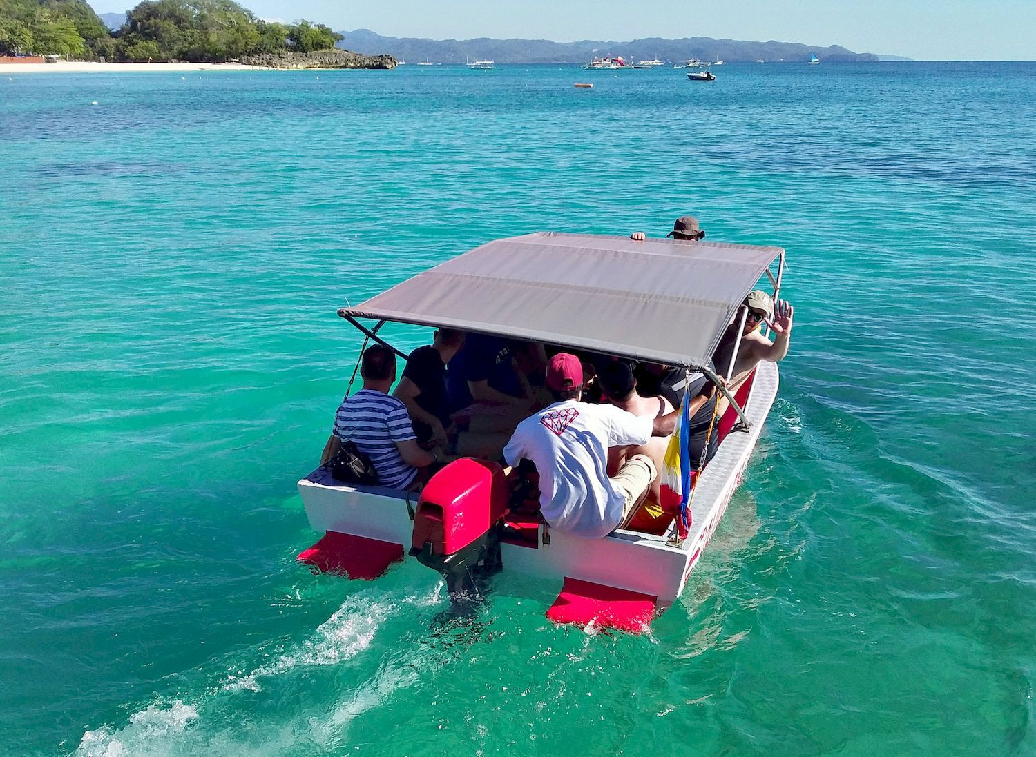 Going to boat rental boat island tour