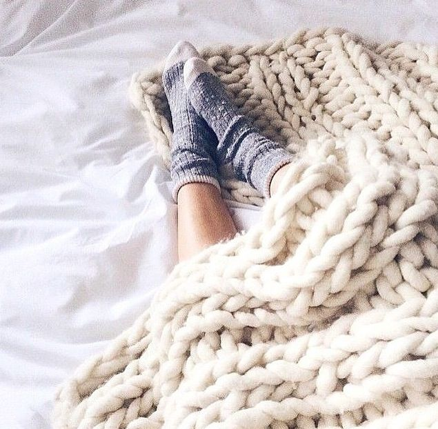 Spending the morning wrapped in a cozy blanket is a great opportunity to recharge your batteries after a long week.