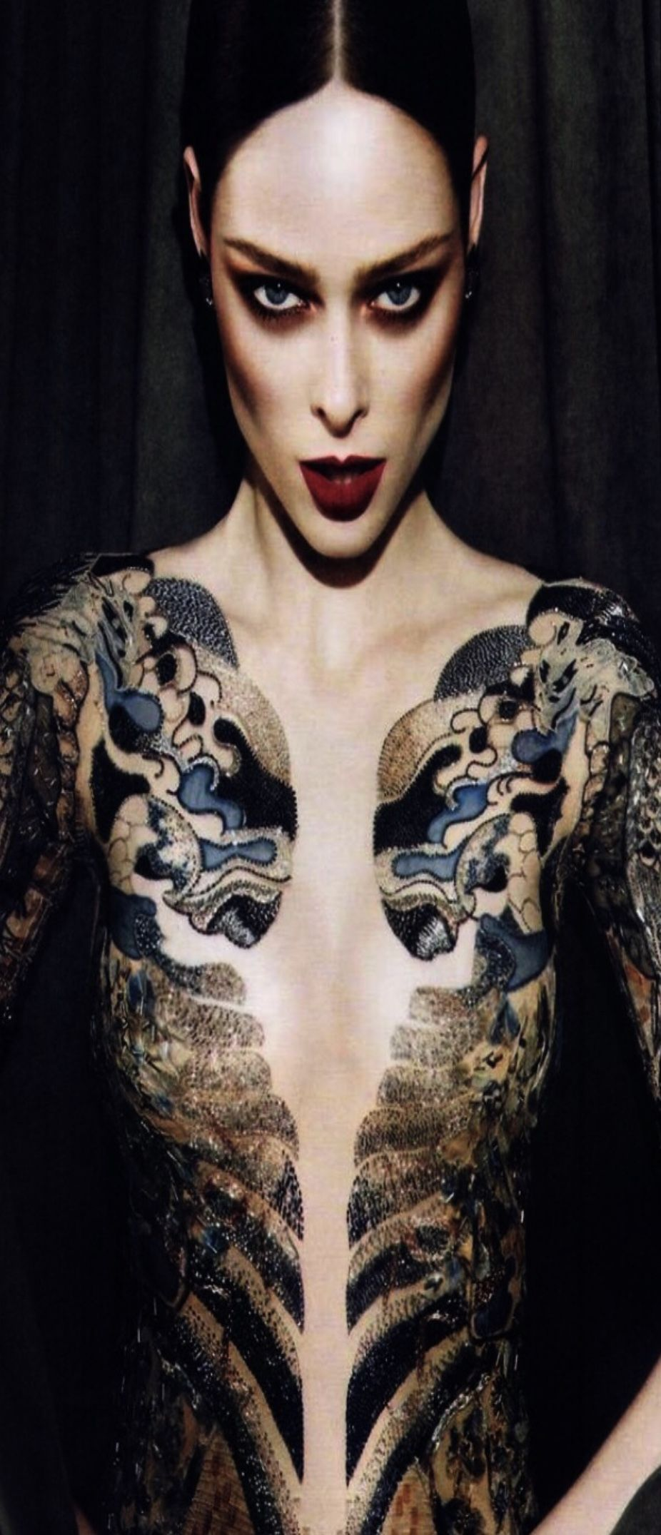 Pin by War*rior on Rorschach Model, Girl tattoos, Yakuza