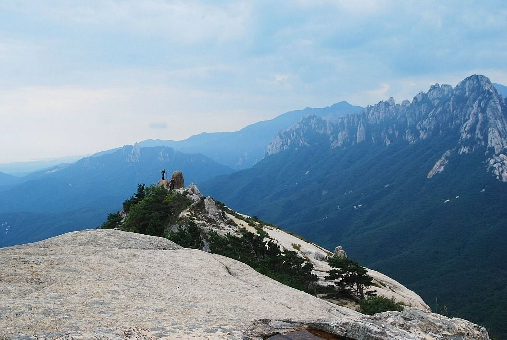 #Ulsanbawi Rock as seen from Sinseondae Peak | Goseong, Gangwon Province, Korea