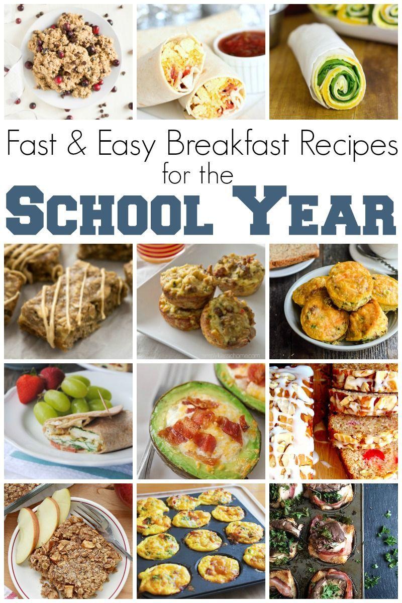 Fast and Easy Breakfast #BackToSchoolWeek images