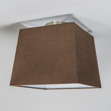 Deckenleuchte Combi 30cm quadratisch braun #Innenbeleuchtung