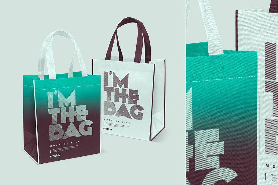 Download Canvas Bag Mockup Set Bag Mockup Canvas Bag Creative Market