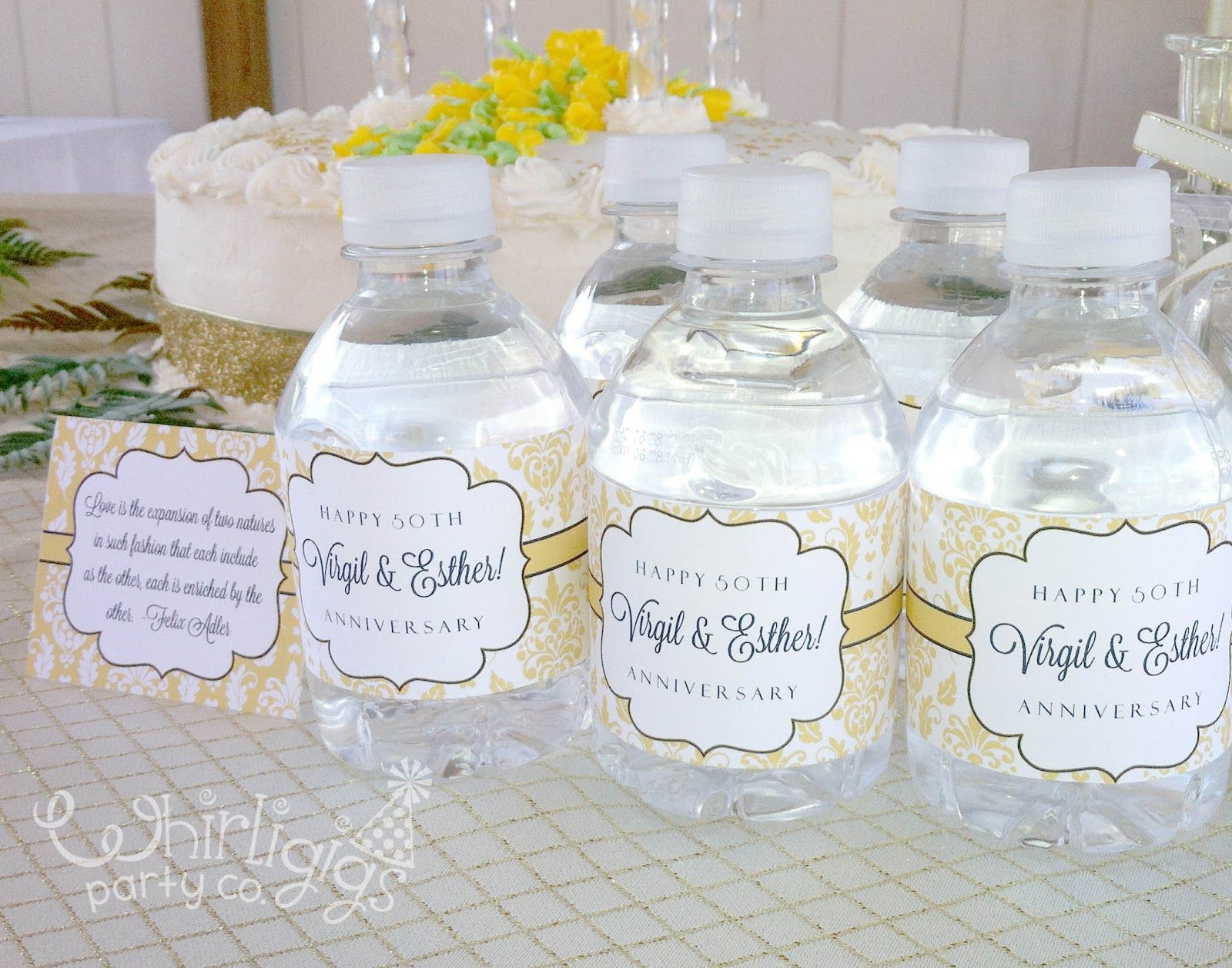 Wedding anniversary party ideas decorating