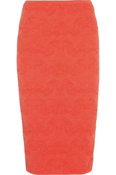 M Missoni Textured crochet-knit pencil skirt | NET-A-PORTER
