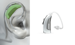 Estilos de Audífonos: detrás del oído (BTE) y audífono MiniBTE