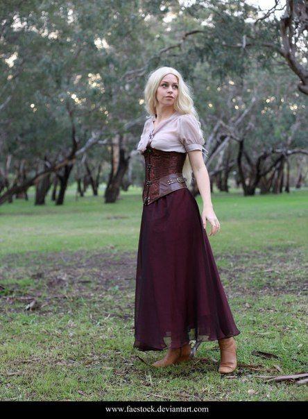 f8d92ff6819d Средневековая женская одежда.   Reference Clothes   Pinterest   Pose ...