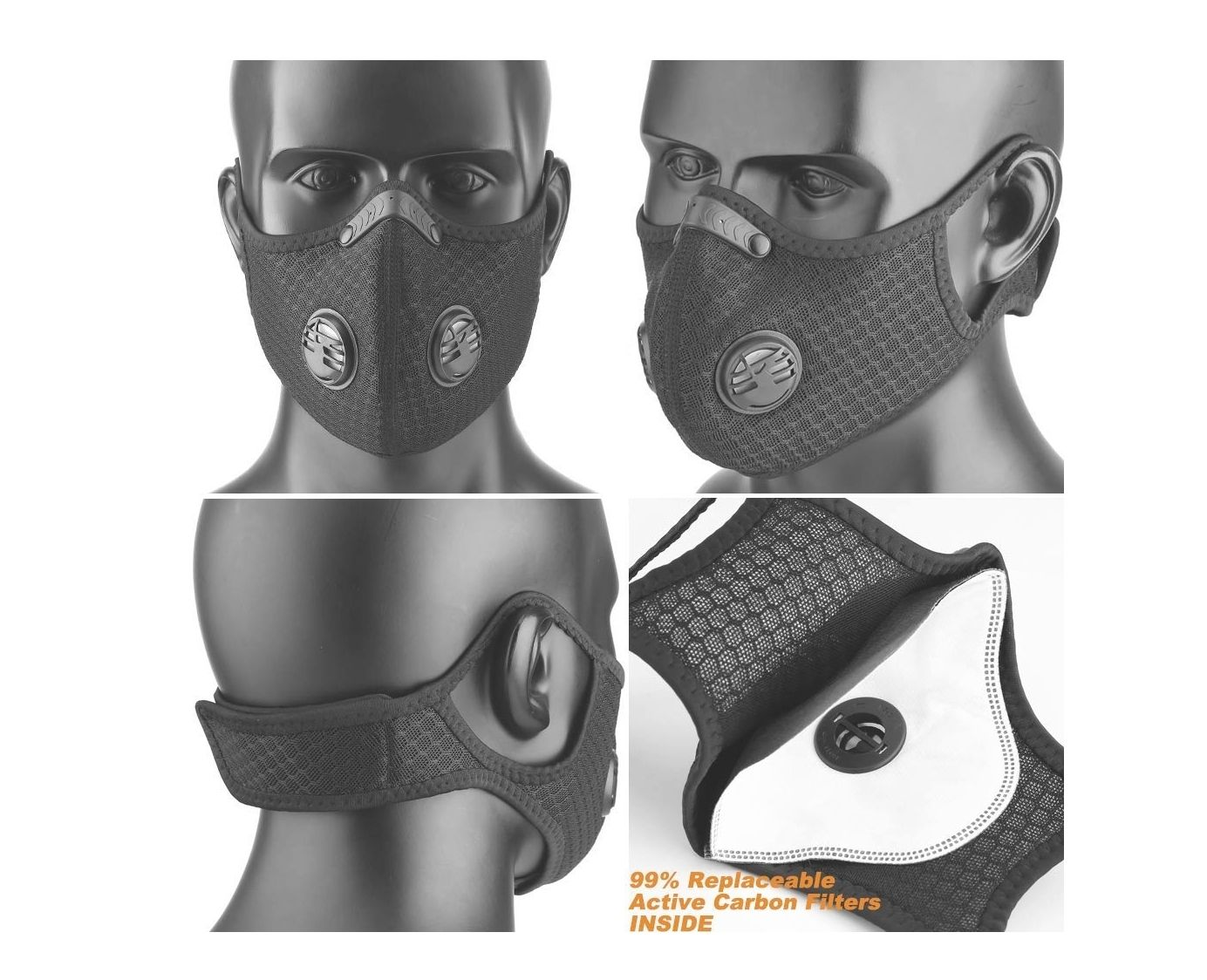 base camp Dust Breathing Mask // Dust Face Mask N99 Air