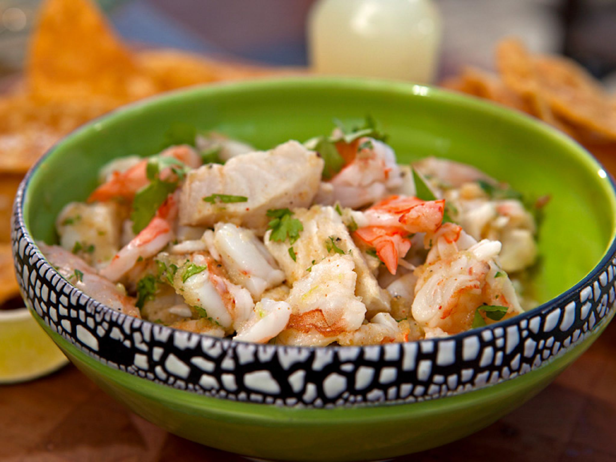 shrimp and mahi mahi citrus ceviche | recipe | fish recipes