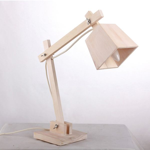 Wooden table lamp. This. Is. Awesome. DIY build your own lamp ...
