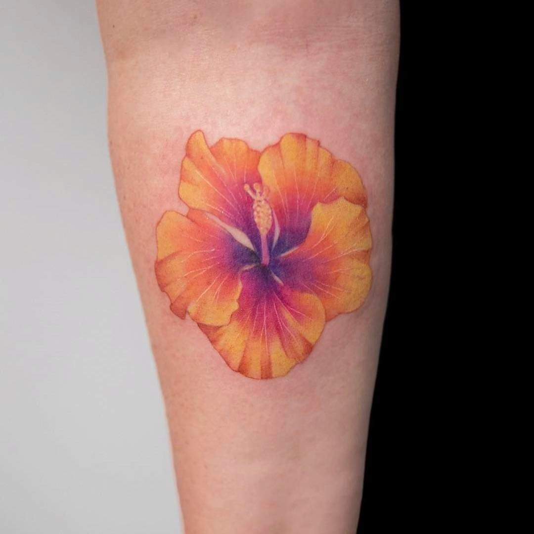 13 Beautiful Hawaiian Flower Tattoos Hibiscus Flower Tattoos Hawaiian Flower Tattoos Hibiscus Tattoo