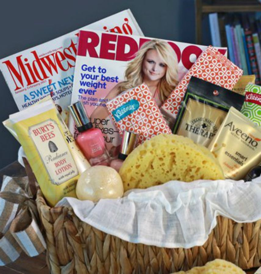 Diy Spa Gift Basket Instructions Recipe With Images Diy Spa