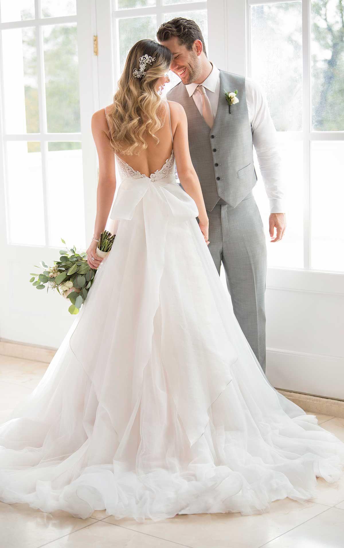 Romantic Boho Ballgown Wedding Dress Wedding Pinterest Stella