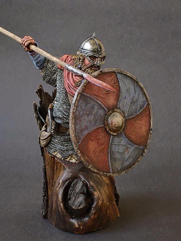 Excellent Viking bust