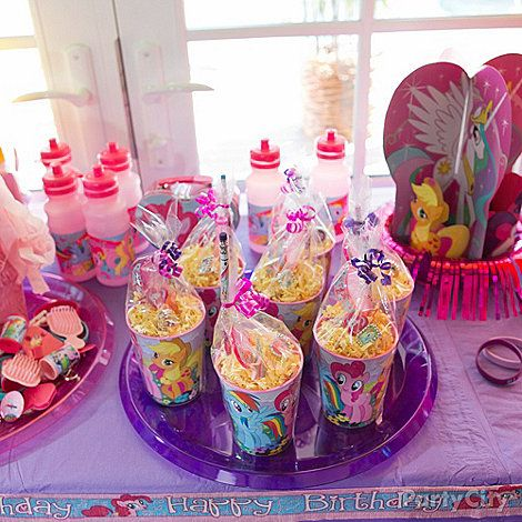 My Little Pony Party Ideas Guide Party City Pony Party Favors