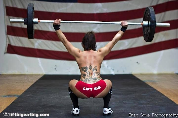 Image result for crossfit booty squats