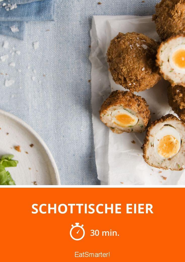 Schottische eier rezept - Eier weich kochen zeit ...