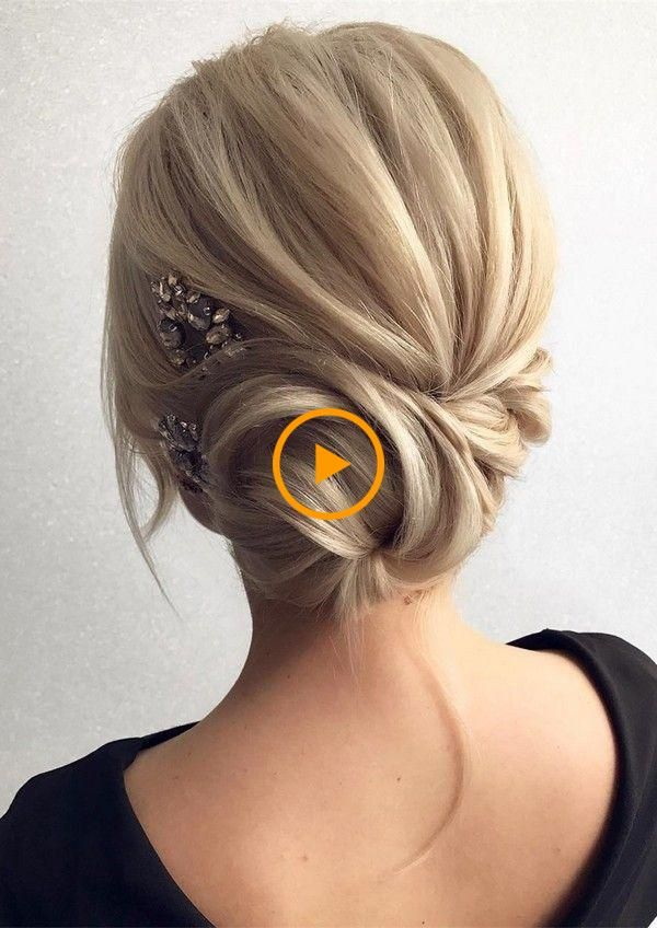 12 peinados de boda tan bonitos Updo de TonyaPushkareva (EmmaLovesWeddings)  – Peinados facile