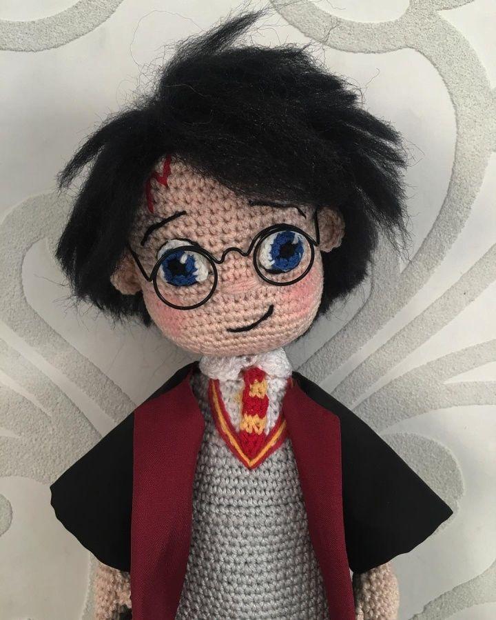 Amigurumi Harry Potter #crochetdolls