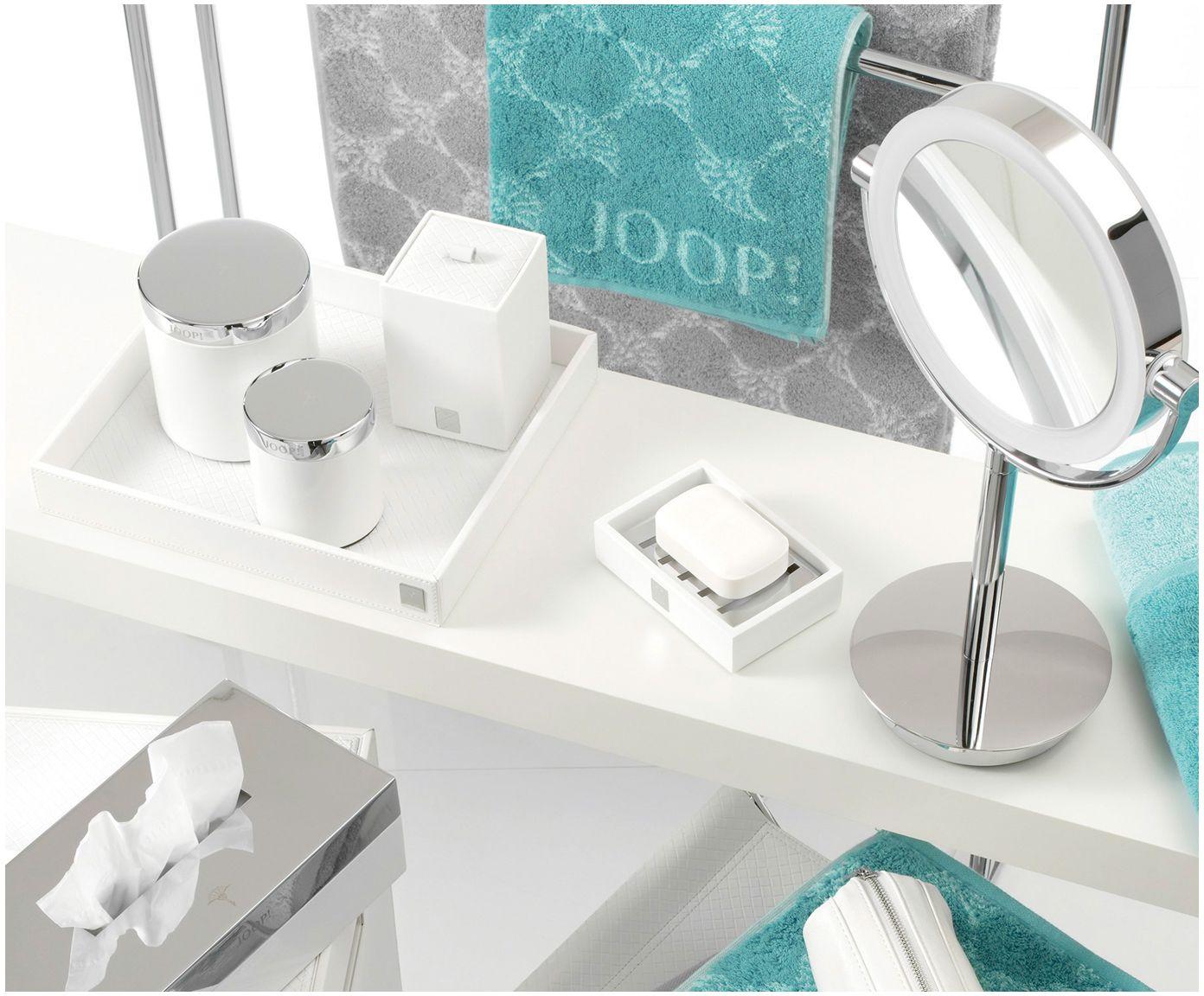 Mit Aufbewahrungsdose Sophia In Weiss Von Joop Setzen Sie Liebevolle Details In Ihrem Badezimmer Jetzt Mehr Accessoires Bei We Led Kosmetikspiegel Kosmetik