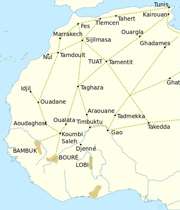 Pin By A HaleviEl On Maps Pinterest - Ouargla map