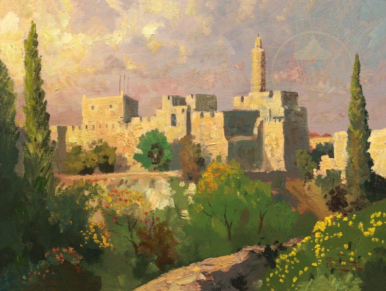 израиль в картинах художников