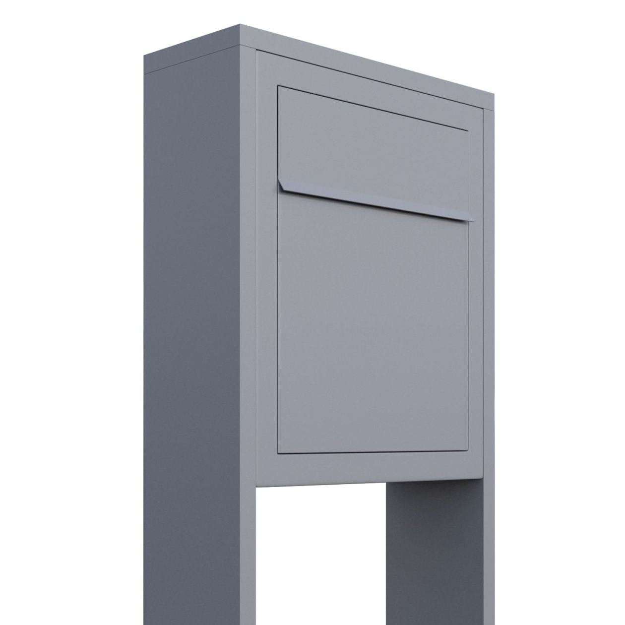 Briefkasten Design Standbriefkasten Base Grau Metallic In 2019 Mail Boxes