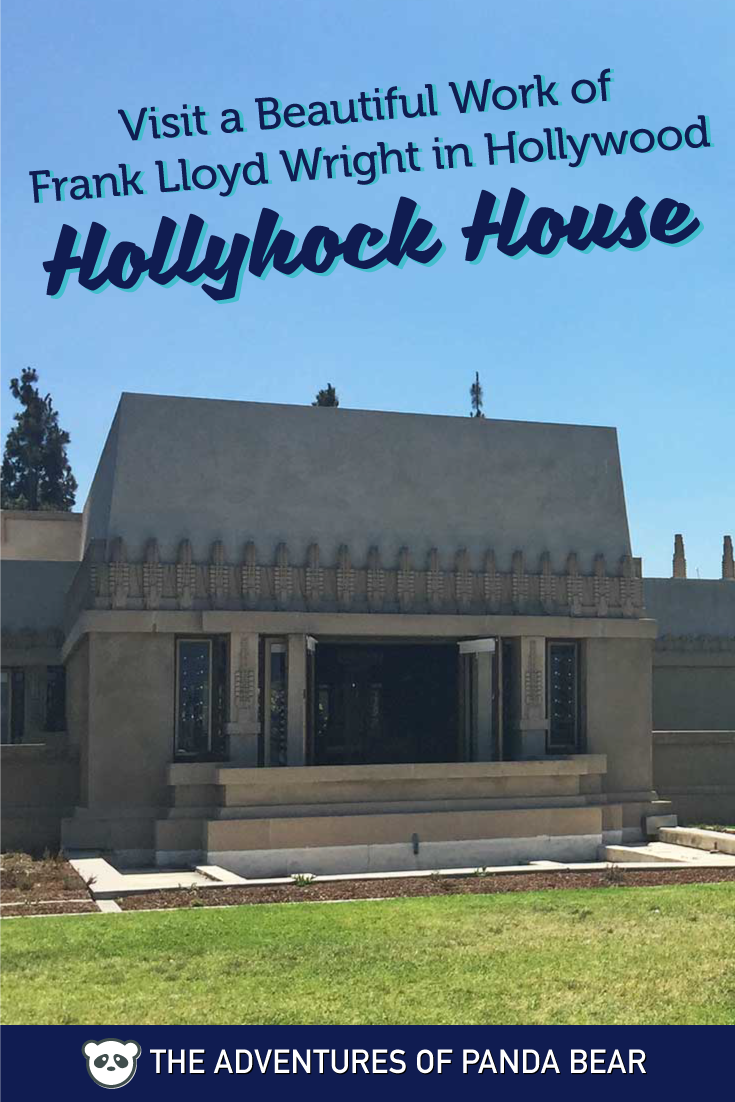 see frank lloyd wright s hollyhock house in hollywood los angeles